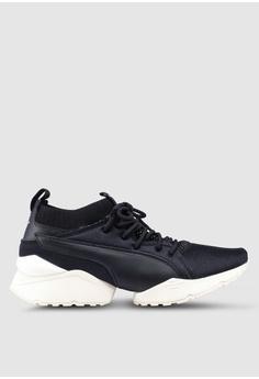 fba20f6067a4 Puma Select black Select Muse Maia Knit Premium Women s Shoes  60EC2SH8BD4352GS 1