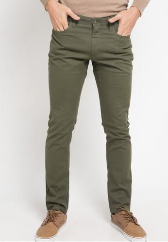 Men's Top green BAZEL-OLIVE Trouser E9F29AA69D8414GS_1