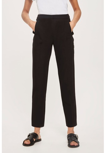 3b488d71a49d4 Shop TOPSHOP HIGH WAISTED CIGARETTE TROUSERS Online on ZALORA Philippines