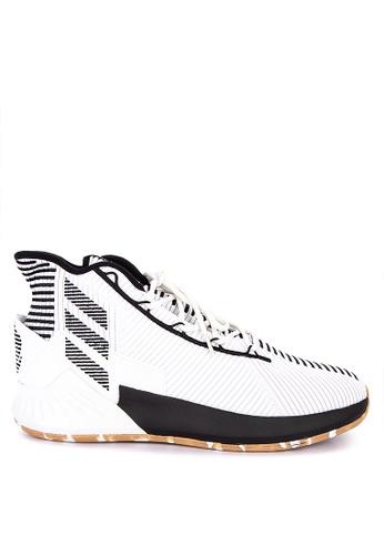 adidas white adidas d rose 9 C3534SHABBCFAEGS_1