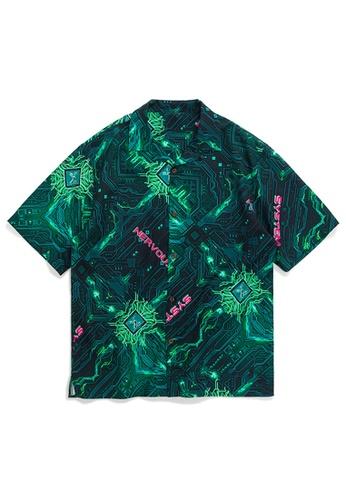 Twenty Eight Shoes Stylish Printed Shirt 2027S20 25707AA51FC419GS_1
