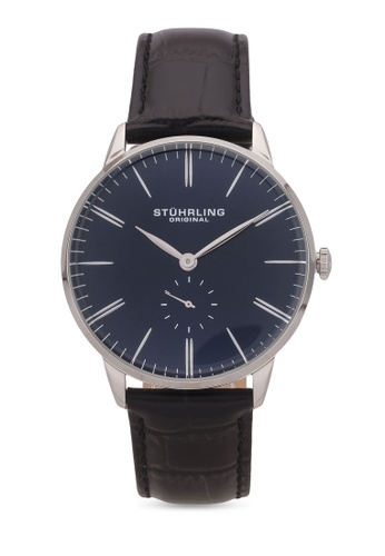 Stuhrling Original black Men's Quartz Watch ST251AC0S053MY_1