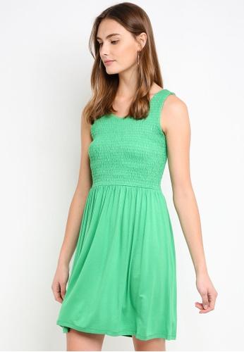 ESPRIT green Knitted Mini Dress 89AFDAA94939B8GS_1