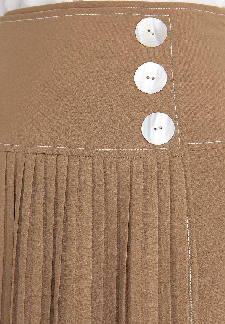 pomelo a midi beige skirt premium beige line pleated rxqpxwz. Black Bedroom Furniture Sets. Home Design Ideas