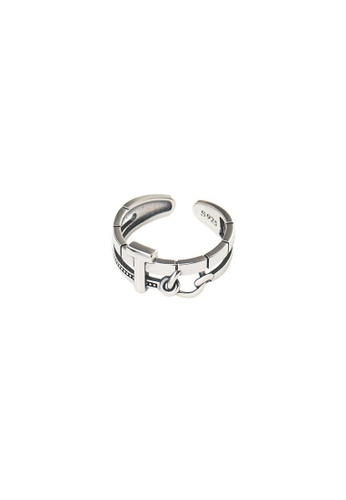 A-Excellence silver Premium S925 Sliver Geometric Ring DCE54AC9F6C9D9GS_1