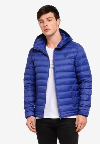 ESPRIT 藍色 保暖連帽外套 E6BB0AADEECDE4GS_1