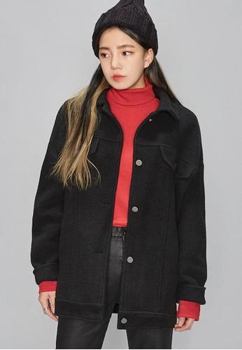 休閒寬鬆冬款大衣, 服飾, 夾克esprit outlet hk & 大衣