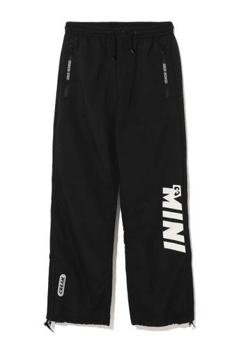 Mini cream black Logo print sweatpants 18DC4AA44BA108GS_1