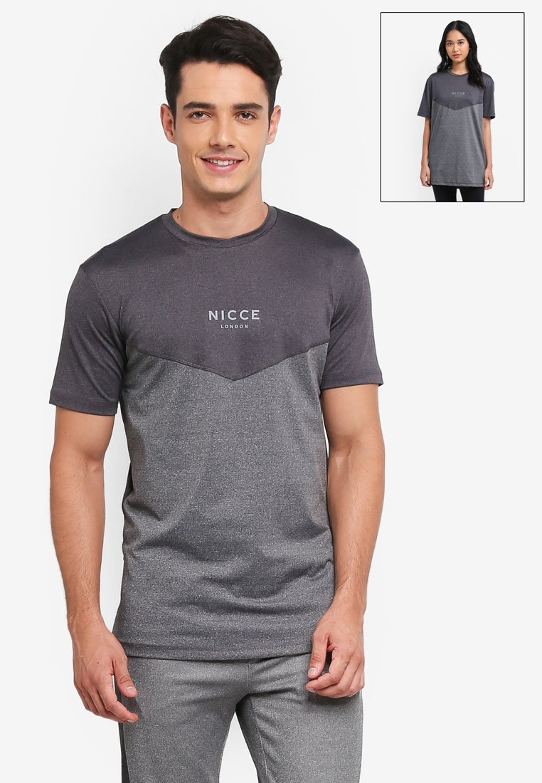 Nicce Tech London Shirt Black T Navy Presta qwftF1vxq