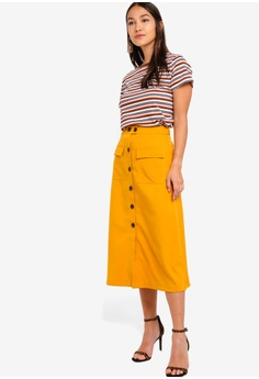 f7be9836fb40 38% OFF ZALORA Buttons Detail Maxi Skirt S$ 39.90 NOW S$ 24.90 Sizes XS S M  L XL