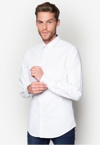 Seth 修身長袖襯衫, 服飾, esprit china襯衫