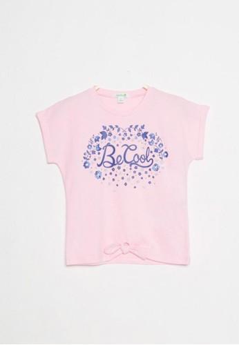 Bossini pink Bossini Kids Girl T-Shirt Baby Pink (04083100025) A57F1KA2FC8D83GS_1