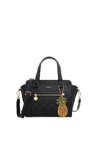 SEMBONIA black SEMBONIA Synthetic Leather Satchel Bag (Black) 9B5B0ACD64096EGS_1