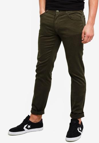 OVS 褐色 素色修身褲 C4E26AA80D6F50GS_1