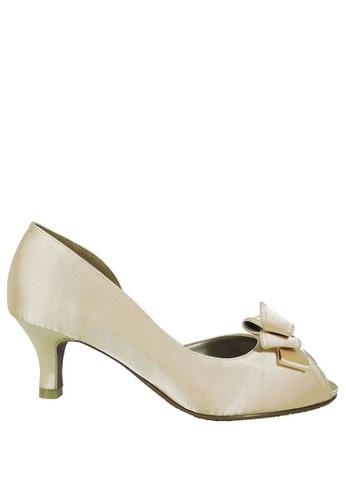 Jacque beige Nadia Champagne Low Heel JA262SH48LXVMY_1