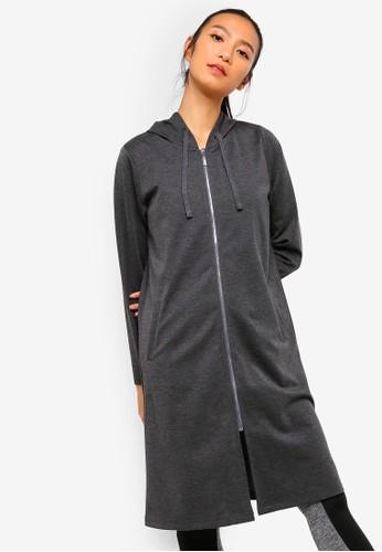 AVIVA grey Long Sleeve Top 61E07AA0D86394GS_1