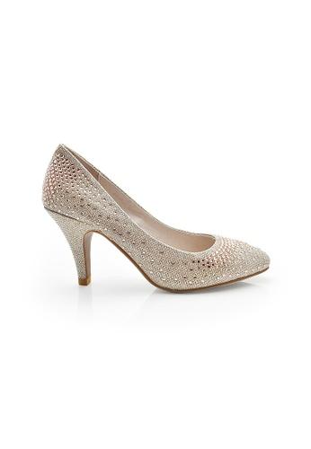 Elisa Litz pink Beky Heels (Champagne) EL365SH28CFZSG_1