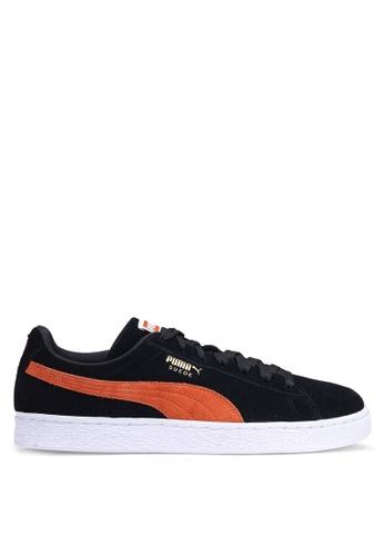 Puma black Sportstyle Prime Suede Classic Shoes 5E966SH3AD39DBGS_1
