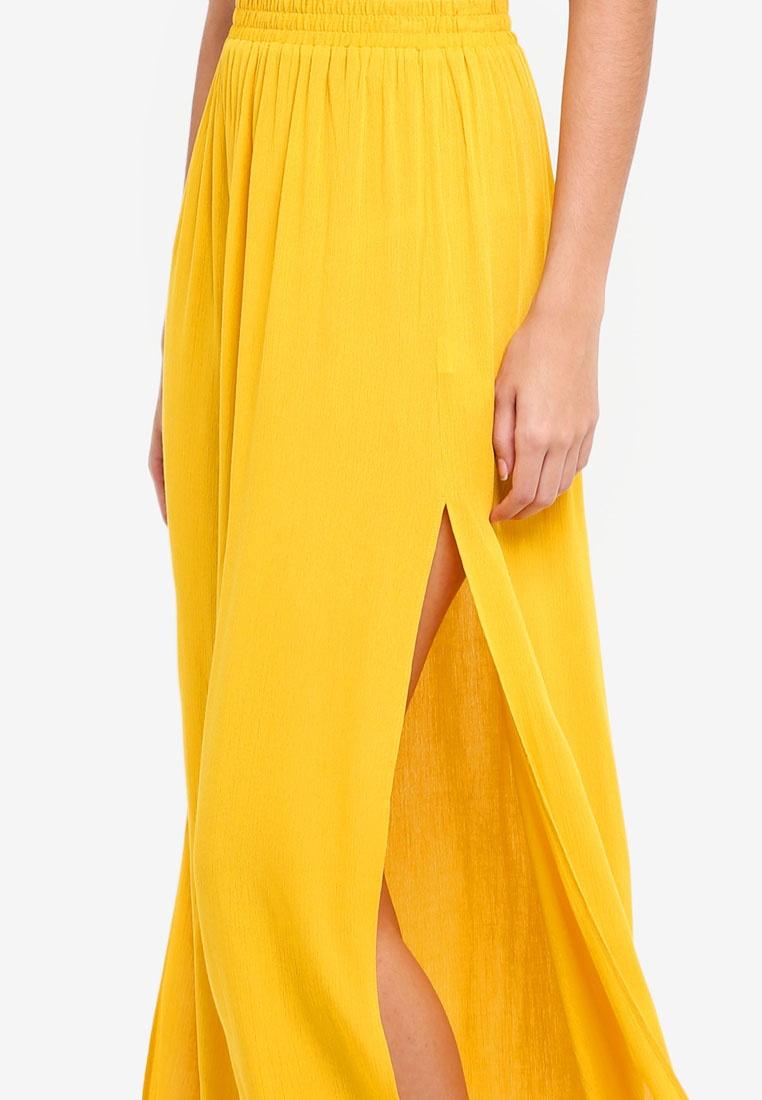 MISSGUIDED Maxi Skirt Maxi Skirt MISSGUIDED Mustard Mustard T7w0aax