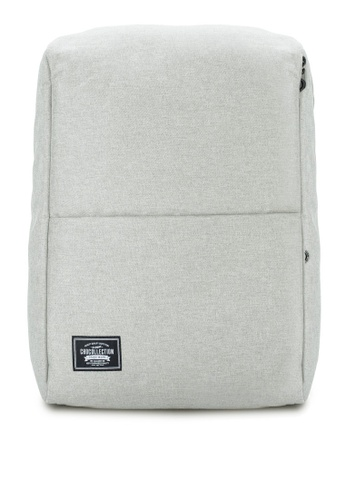 Chocollection grey PAL Backpack 73434AC204C8BCGS_1