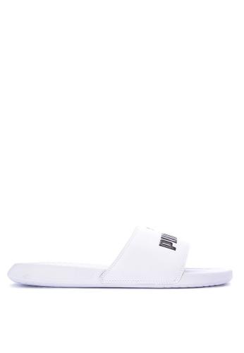 Puma white Popcat Sandals PU758SH0KJ0BPH_1