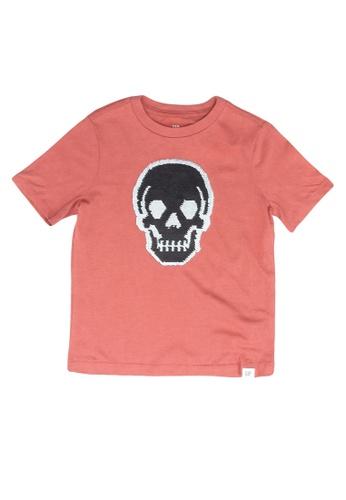 GAP red Graphic T-Shirt 7C21DKAEE03F4AGS_1