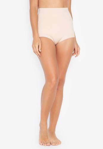 Chase Fashion beige Thick Seamless High Waist Body Shaper Girdle 0C367USC3C0FD4GS_1