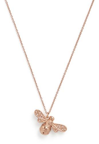 Olivia Burton 金色 Olivia Burton Sparkle Bee Rose Gold Women's Necklace  (OBJAMN59) BB76CAC7581AB6GS_1