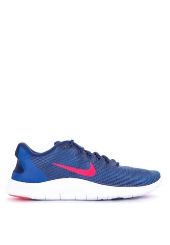 Nike blue Nike Flex Rn 2018 Shoes 62C77SHB203797GS_1