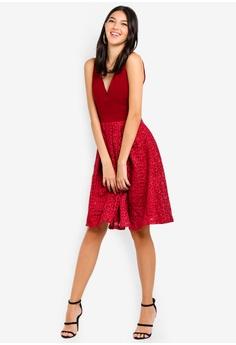 5b2407cd1a WALG Emb Skirt Skater Dress S  92.90. Sizes 8 12 14