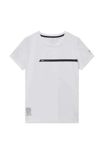 FILA white FILA CROSS TRAINING Logo T-shirt D885DAA76C0F2DGS_1