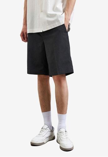 Urban Revivo grey Casual Shorts AD609AA340F974GS_1