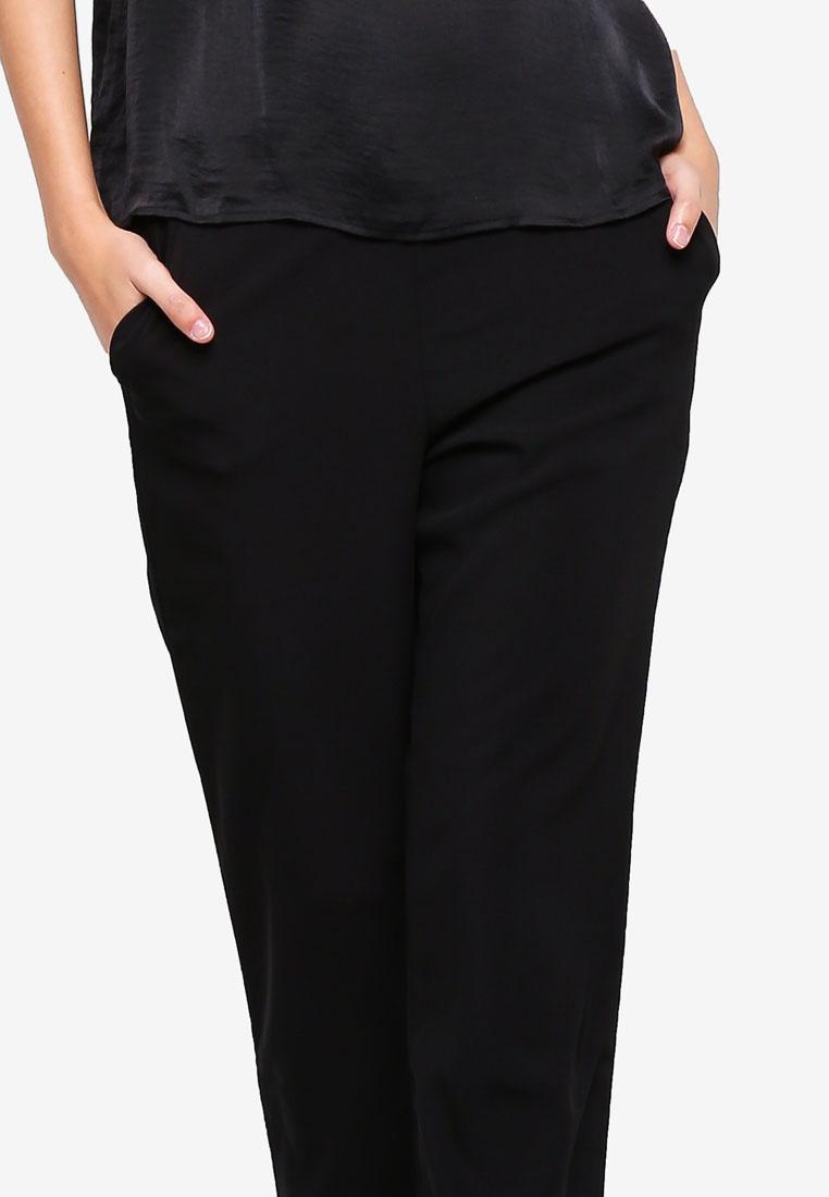 DE YONG Black Pants JACQUELINE Faith 4Y8dqqP