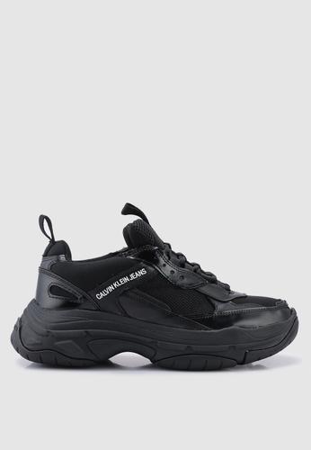 Calvin Klein black Marvin Sneakers A64ACSH1FA61FEGS_1