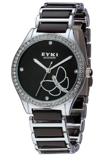 W8489L 蝴esprit台灣門市蝶閃飾女裝鍊錶, 錶類, 不銹鋼錶帶