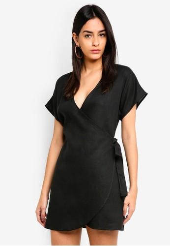 Supre grey Pipa Wrap Dress C7D87AADB96FBEGS_1