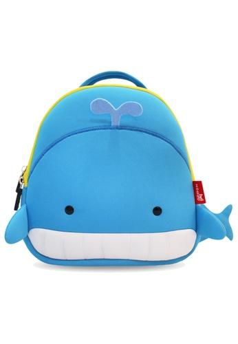 Nohoo blue Nohoo Kids Backpack Whale (Blue) D8BD9KC65FEBEEGS_1