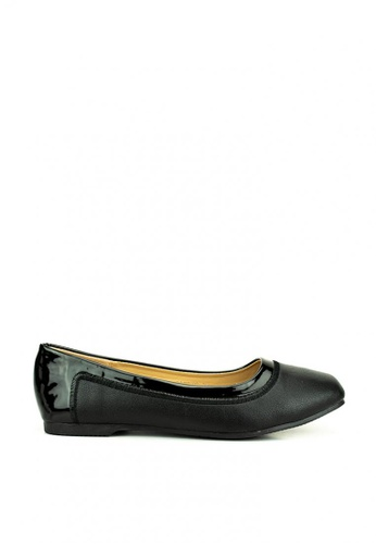 Mario D' boro Runway black Adele Flat Shoes 6101CSH2A210C4GS_1