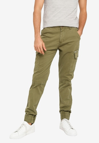 BLEND green Cargo Joggers ACCA9AAD6A231AGS_1