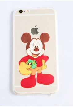Mickey Soft Transparent Case for iPhone 6 plus/ 6s plus