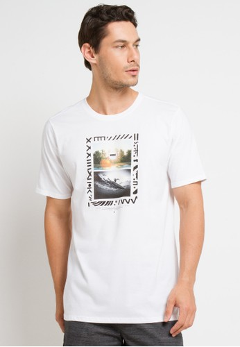 hurley white Dri-Fit Solidad T-Shirt A8D97AAEC811ACGS_1
