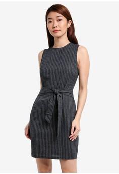 harga Knot Front Bodycon Dress Zalora.co.id