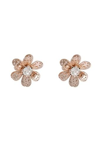 ALDO gold Harla Pierced Earrings 4085BAC7CB9942GS_1