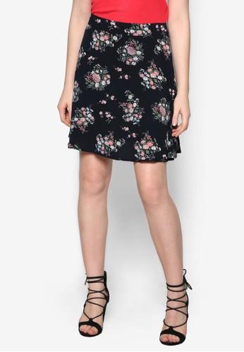 花卉傘狀短esprit童裝門市裙, 服飾, 服飾