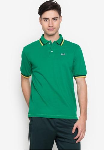 Le Tigre green Men's Classic Polo Shirt A02FFAAACE794FGS_1