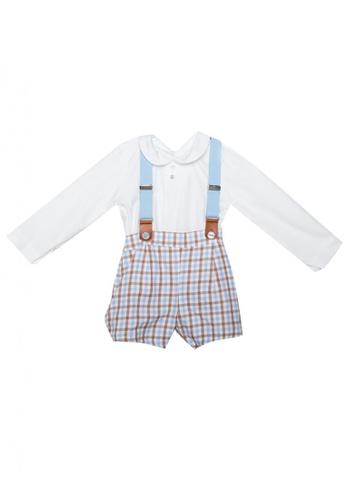 RAISING LITTLE blue Lazaro Outfit Set 1D8CEKAB77733BGS_1