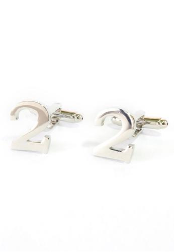 Splice Cufflinks Number Two 2 Cufflinks SP744AC57DNYSG_1