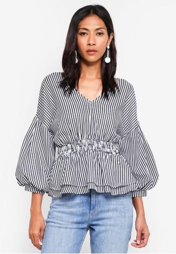 e12d98b612 Buy Dressing Paula Striped Cotton Poplin Top