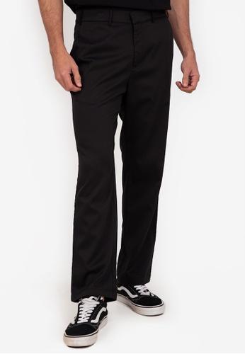 ZALORA BASICS black Skinny Stretch Trousers C3DF4AAD33F98EGS_1