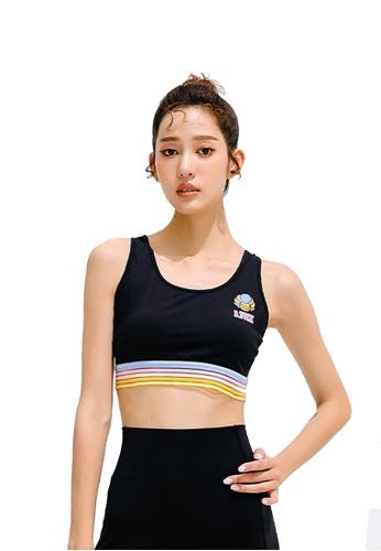 B.Duck black B.Duck Women Training Sports Bra B5448USD088CCFGS_1